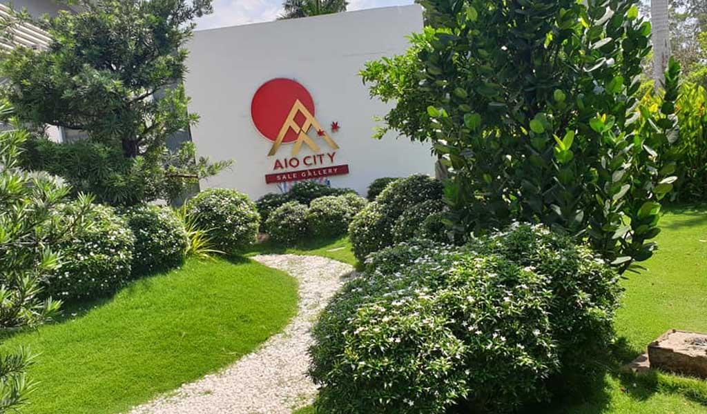 Trung tâm bán hàng Aio City Bình Tân.
