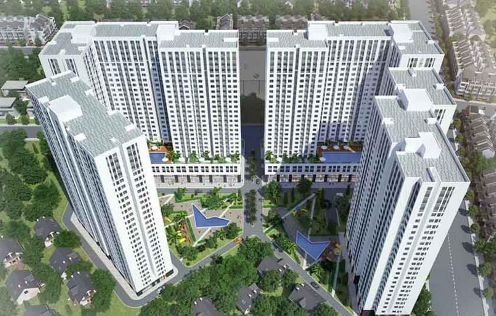Phối cảnh dự án Aio City Bình Tân.