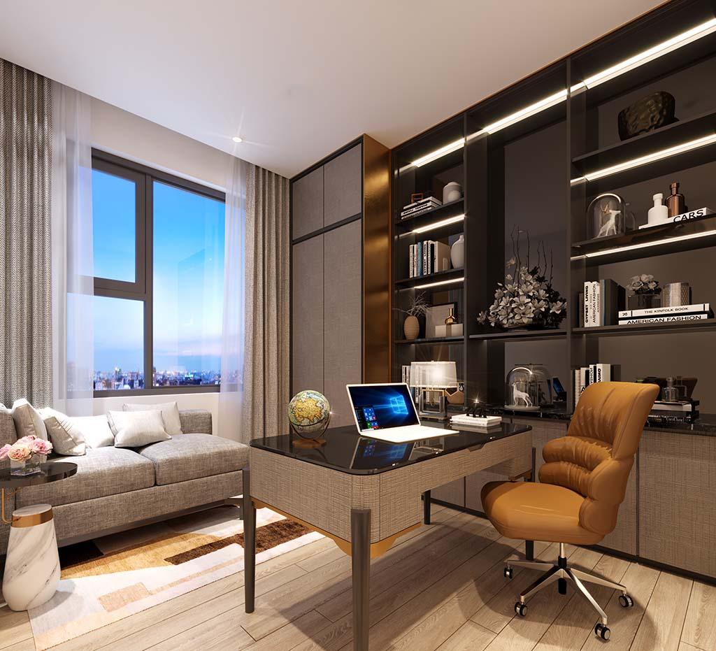 Nhà mẫu Aio City Bình Tân căn hộ 3 phòng ngủ