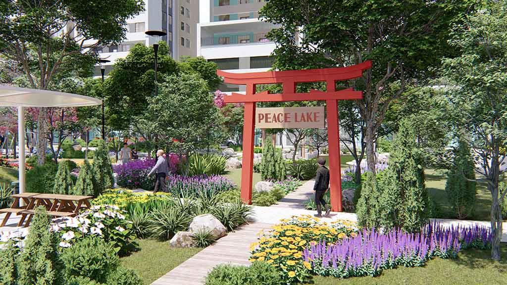 Công viên nội khu Aio City Bình Tân