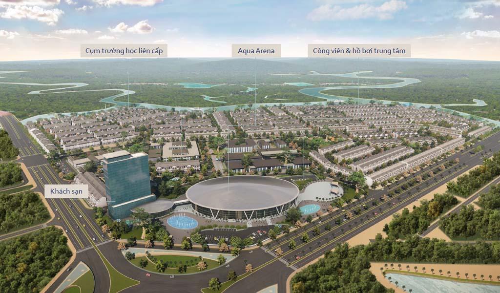Tiện ích Aqua City Novaland Đồng Nai