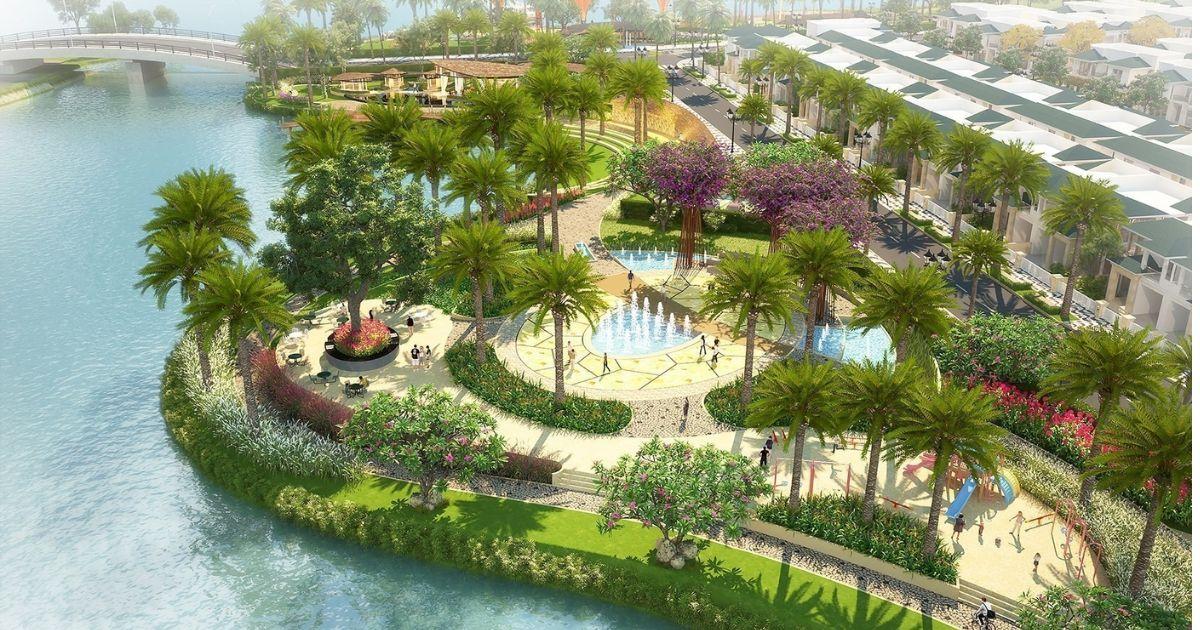 Công viên cây xanh Senturia Nam Sài Gòn