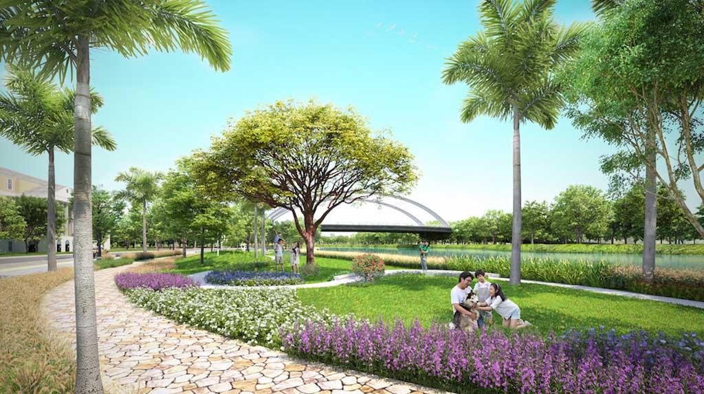 Công viên Milano Senturia Nam Sài Gòn