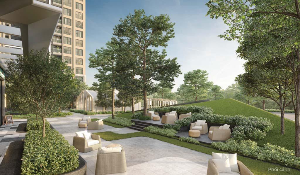 Masteri West Heights sở hữu tầm nhìn toàn cảnh tại khu đô thị Smart City.