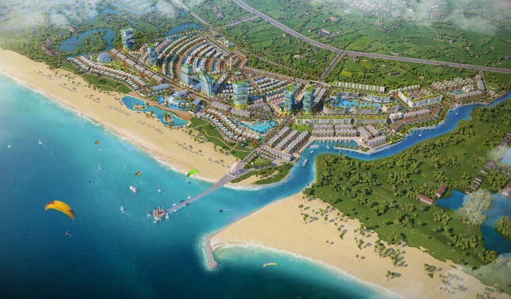 Mặt bằng Venezia Beach Bình Châu.