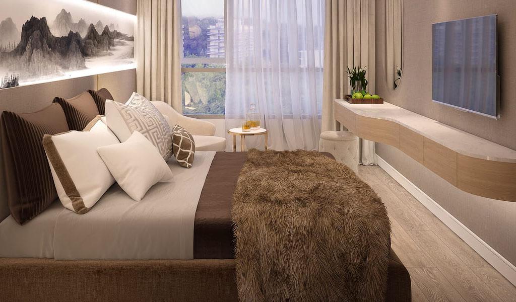 Phòng ngủ Venus Luxury Tân Thành.