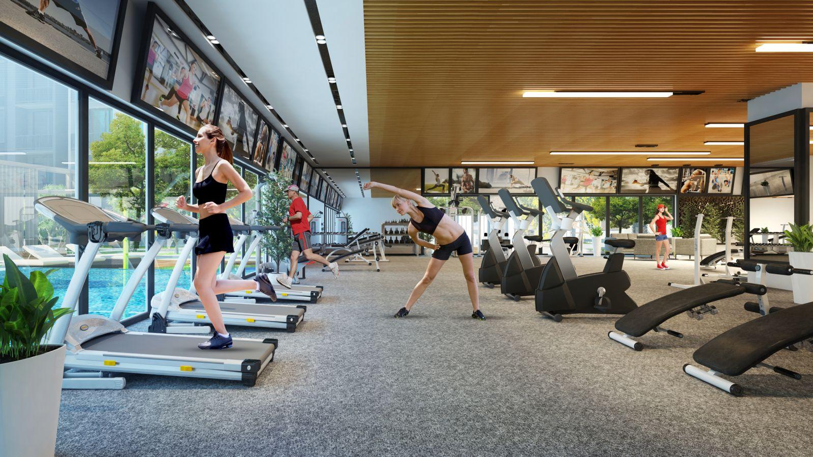 Phòng tập Gym Venus Luxury Quận 5